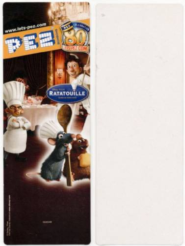 PEZ - Card MOC -Disney Movies - Ratatouille - Remy