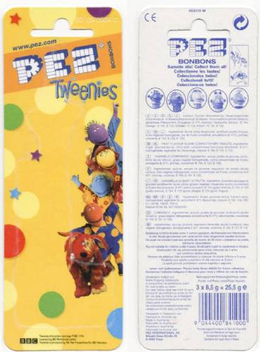PEZ - Card MOC -Animated Movies and Series - Tweenies - Jake