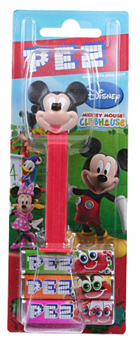PEZ - Card MOC -Disney Classic - Mickey Mouse Clubhouse - Mickey Mouse - I