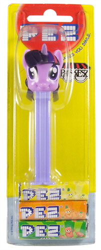 PEZ - Card MOC -My little Pony - Twilight Sparkle