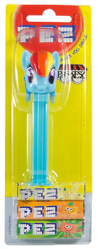 PEZ - Card MOC -Animated Movies and Series - My little Pony - Rainbow Dash