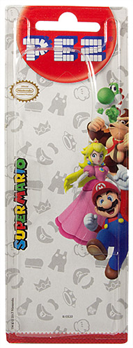 PEZ - Card MOC -Animated Movies and Series - Nintendo - Yoshi - B