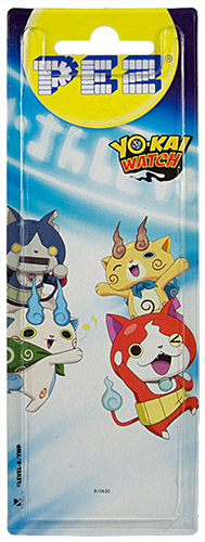 PEZ - Card MOC -Animated Movies and Series - Yo-Kai Watch - Robonyan