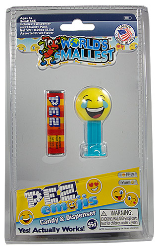 PEZ - Card MOC -Miscellaneous - World's smallest PEZ - Lol'ing