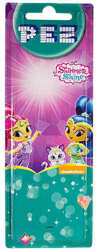 PEZ - Card MOC -Animated Movies and Series - Shimmer and Shine - Shimmer