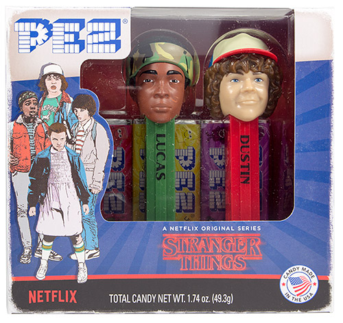 PEZ - Card MOC -Movie and Series Characters - Stranger Things - Lucas