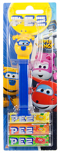 PEZ - Card MOC -Animated Movies and Series - Super Wings - Donnie