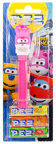 PEZ - Card MOC -Animated Movies and Series - Super Wings - Dizzy