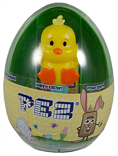 PEZ - Card MOC -Easter - Duck - Mini Full Body - B