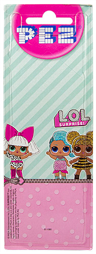 PEZ - Card MOC -L.O.L. Surprise! - Splash Queen (Regular)