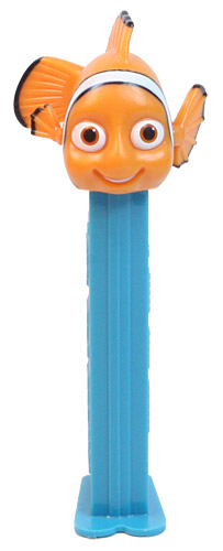 PEZ - Best of Pixar - Finding Nemo - Nemo - light orange - A
