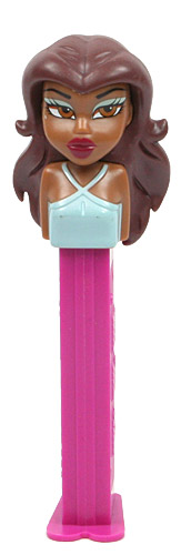 PEZ - Animated Movies and Series - Bratz - Sasha - Brown Eyes