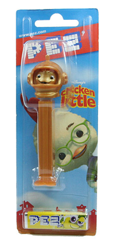 PEZ - Disney Movies - Chicken Little - Fish - Gold Head
