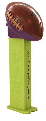 PEZ - Linz Gathering - 2006 - Football - Dark Brown Top/Dark Purple Bottom