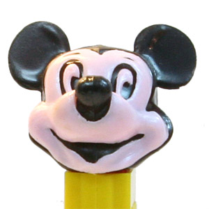 PEZ - Disney Classic - Mickey Mouse - Small Ears, Pink Face - A