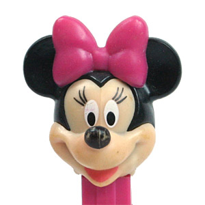 PEZ - Disney Classic - Minnie Mouse - Rounded Back of Head - A