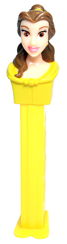 PEZ - Disney Classic - Princess - Belle - Light Brown Eyes - A