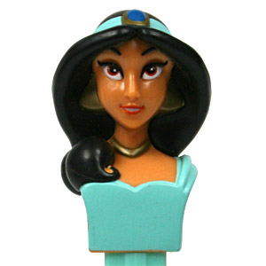PEZ - Princess - Jasmine - Flash paint curl, Dark Necklace