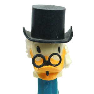 PEZ - Disney Classic - Duck Tales - Scrooge McDuck - A