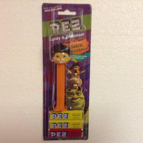 PEZ - Dreamworks Movies - Shrek - Puss-in-Boots