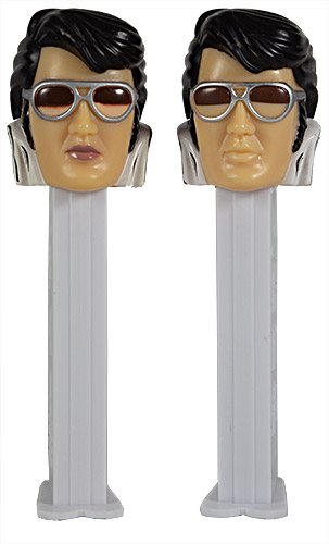 PEZ - Famous People - Elvis - 70's Elvis - red lips