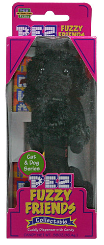 PEZ - Fuzzy Friends Dogs & Cats - Molly the Poodle