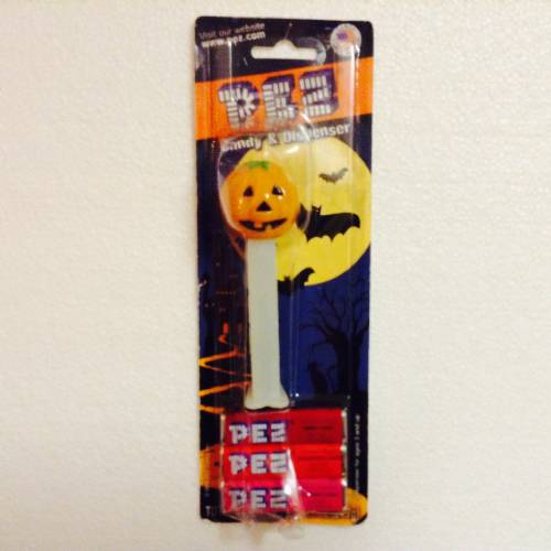 PEZ - Halloween - Pumpkin - Orange Head - C