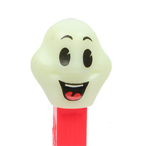 PEZ - Glow-in-the-Dark - Glowing Ghosts - Happy Henry - Glowing