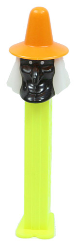 PEZ - Halloween - Misfits - Witch - Black Face - D