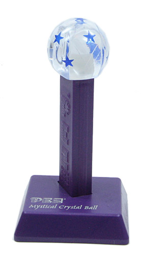 PEZ - Miscellaneous - Mystical Crystal Ball - Blue Stars