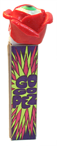 PEZ - Miscellaneous - Psychedelic Flower - Red Flower - A