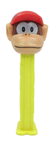PEZ - Animated Movies and Series - Nintendo - Diddy Kong