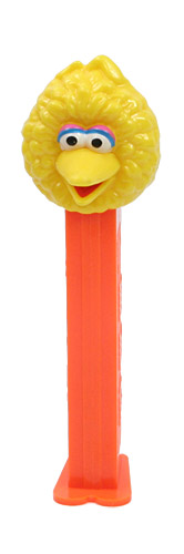 PEZ - Sesame Street - Big Bird - Yellow Head