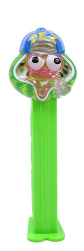 PEZ - Crystal Collection - Sour Watermelon - Green Crystal Head