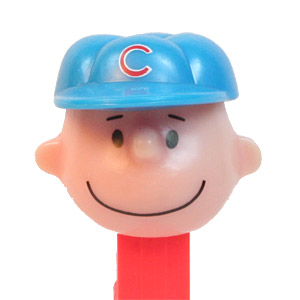 PEZ - Sports Promos - Baseball - Chicago Cubs Charlie Brown - A
