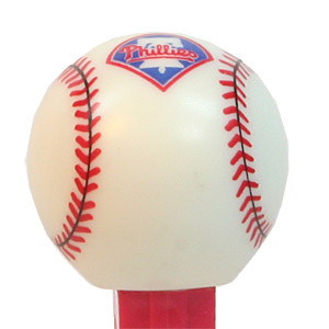PEZ - Sports Promos - Baseball - Philadelphia Phillies Baseball
