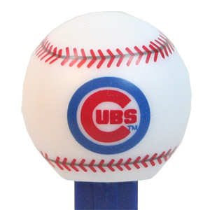 PEZ - Sports Promos - MLB Balls - Ball - Chicago Cubs - A
