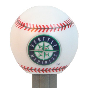 PEZ - Sports Promos - MLB Balls - Ball - Seattle Mariners