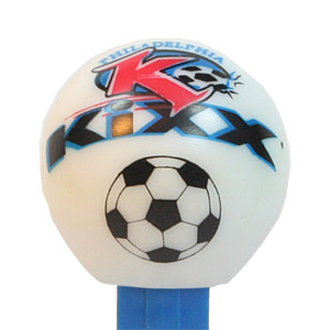 PEZ - Sports Promos - Soccer - Philadelphia Kixx Ball