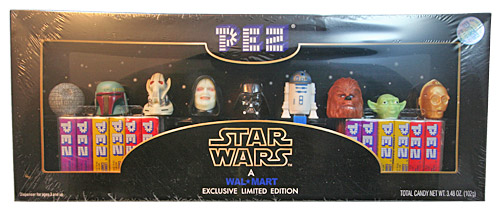 PEZ - Limited Edition - Collector's Set - Glowing Palpatine