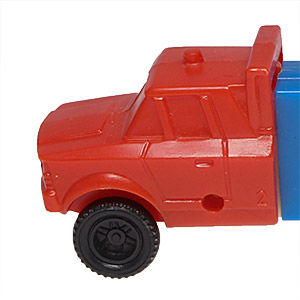 PEZ - Trucks - Series C - Cab #2 - Red Cab