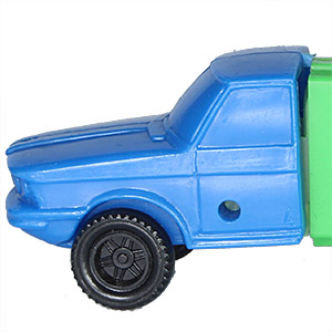 PEZ - Trucks - Series C - Cab #4 - Blue Cab - B