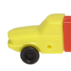 PEZ - Trucks - Series C - Cab #4 - Yellow Cab - B