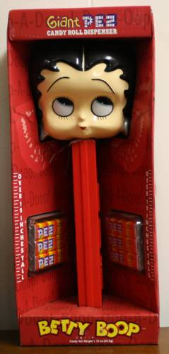 PEZ - Giant PEZ - Miscellaneous - Betty Boop