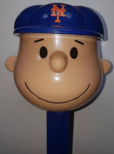 PEZ - Giant PEZ - Peanuts - MLB Charlie Brown - New York Mets