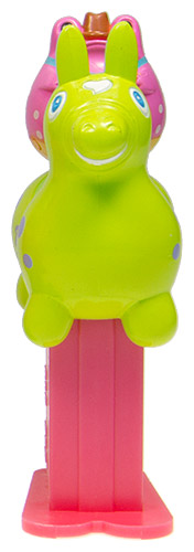 PEZ - Mini PEZ - Rody Meets Frogstyle #20 - Green Rody/Purple Frog
