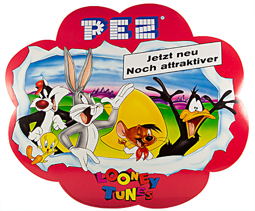 PEZ - Stickers - Balloon Sticker - Looney Tunes