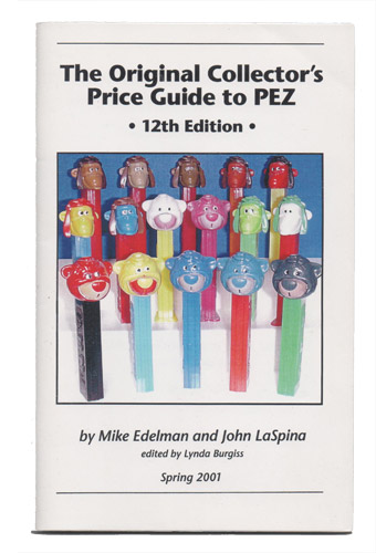 PEZ - Books - The Original Collector's Price Guide to PEZ - 12th Edition