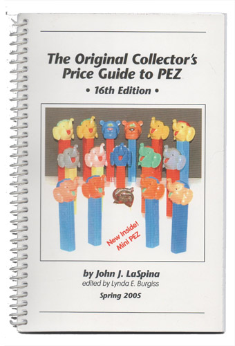 PEZ - Books - The Original Collector's Price Guide to PEZ - 16th Edition