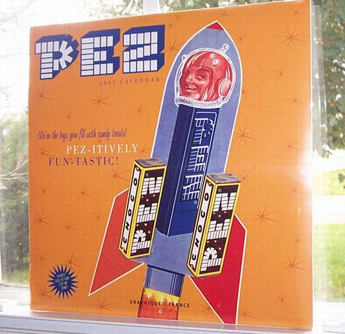 PEZ - Miscellaneous (Non-Dispenser) - Calendar - 2005